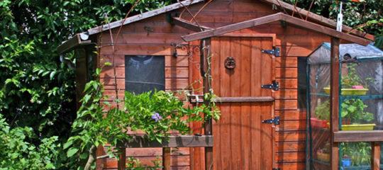 Abris de jardin, garages et serres