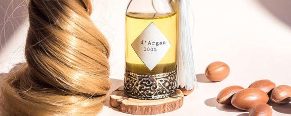Huile d'argan cheveux